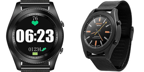Smartwatch NO.1 S9 con pulsómetro