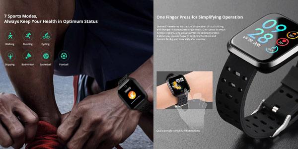 Smartwatch Lenovo E1 chollo en Gearbest