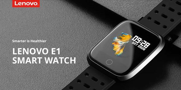 Smartwatch Lenovo E1 barato en Gearbest