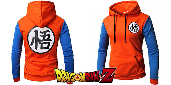 Sudadera con capucha de Dragon Ball