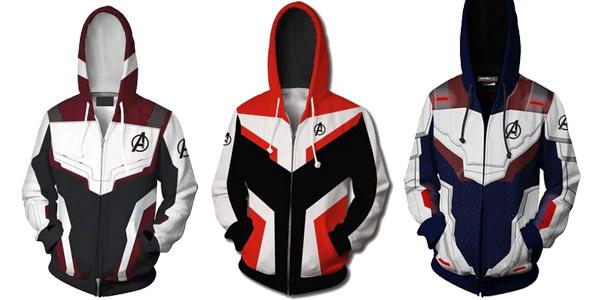 Sudadera con capucha Marvel Vengadores Endgame barata en AliExpress