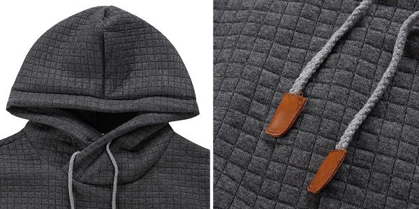 Sudadera con capucha para hombre chollazo en AliExpress