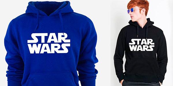 Sudadera de Star Wars con capucha para hombre barata