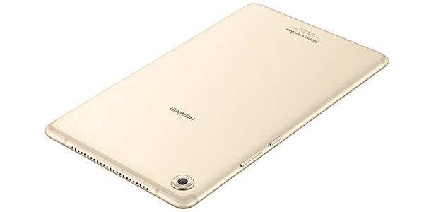 Huawei MediaPad M5 en color champagne