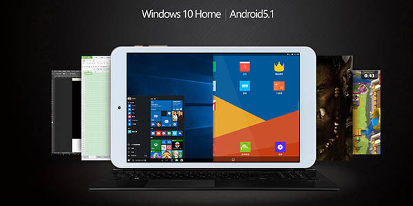 Onda V80 Plus con Windows 10 + Android 5.1