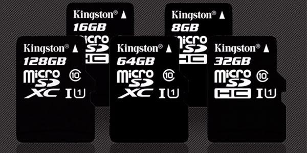 Tarjeta de memoria microSD Kingston de 64 GB y 128 GB en oferta