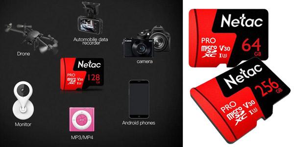 Tarjeta memoria Netac P600 Pro v30 de 128 GB chollo en Banggood