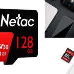 Tarjeta memoria Netac P600 Pro v30 de 128 GB barata en BangGood