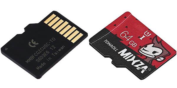 Tarjeta microSDXC MIXZA TOHAOLL de 64 GB barata