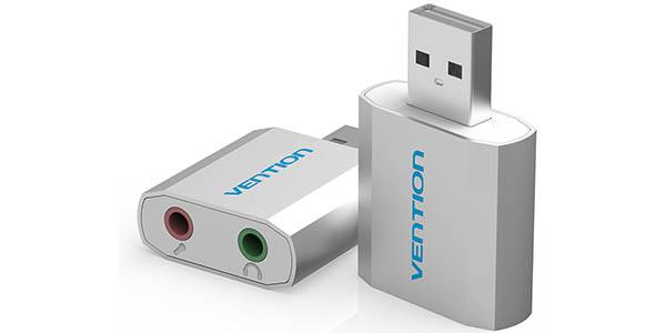 Tarjeta de sonido USB Vention