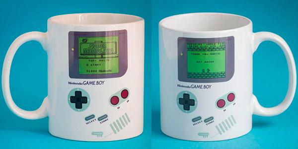 Taza térmica Game Boy de Nintendo en oferta