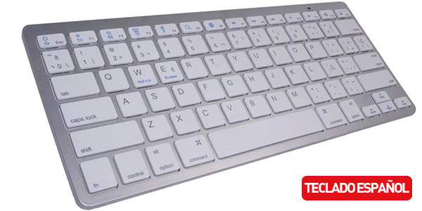 Teclado bluetooth multiplataforma