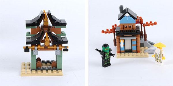 Templo Ninjago tipo LEGO chollazo en AliExpress