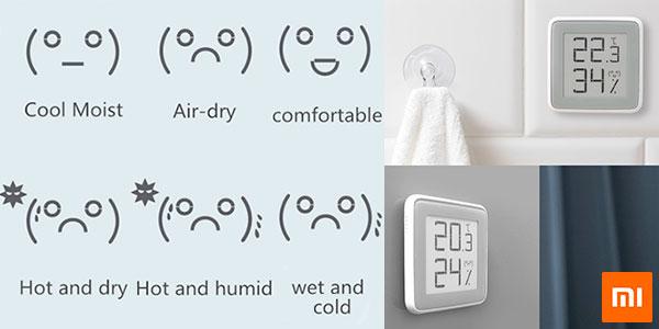 Chollo Sensor de humedad y temperatura Xiaomi con pantalla de tinta electrónica