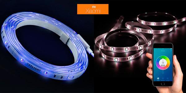 Tira de luz LED inteligente Xiaomi Yeelight YLDD04YL barata