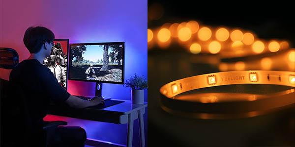 Tira de luz LED inteligente Xiaomi Yeelight YLDD04YL en Banggood