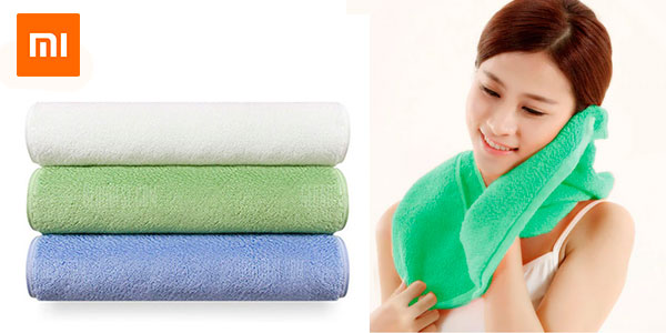 Toalla de baño Xioami Towel antibacteriana barata