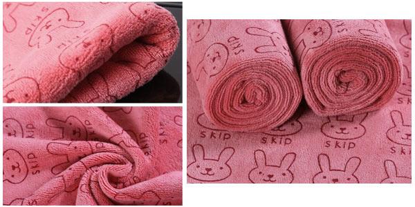 Mini-toallas de microfibra con varios diseños