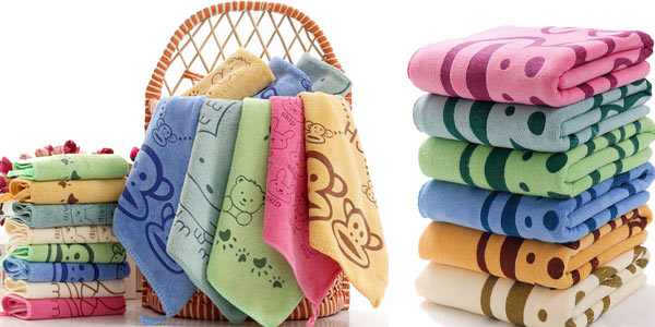 Mini toallas de microfibra para bebés baratas en AliExpress