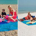 Toalla de playa extensible en varios colores barata en cafago con cupón L5050Y