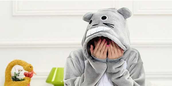 Pijama mono de Totoro HaiCospl chollazo en AliExpress