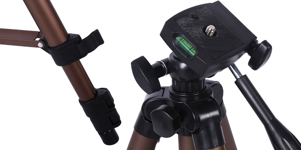 Trípode de cámara + adaptador smartphone + bolsa de transporte chollazo en AliExpress