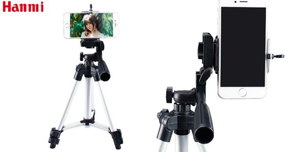 Trípode plegable Hanmi para cámaras y smartphone chollo en AliExpress