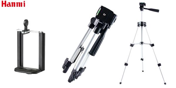 Trípode plegable Hanmi para cámaras y smartphone barato en AliExpress