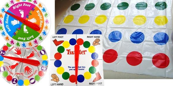 Juego Twister en varios modelos