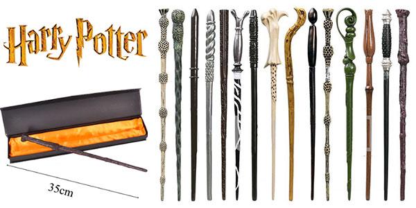 Varitas mágicas de Harry Potter de 35 cm en varios modelos baratas