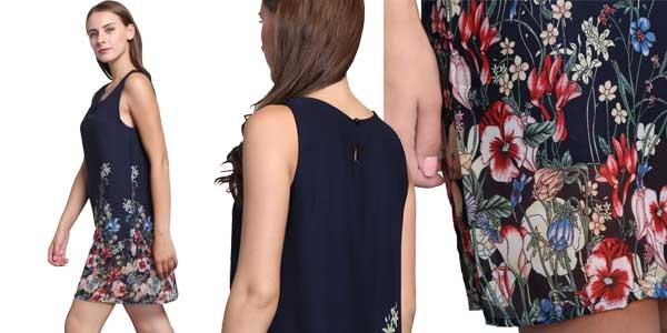 Vestido ILISMABA para mujer estampado