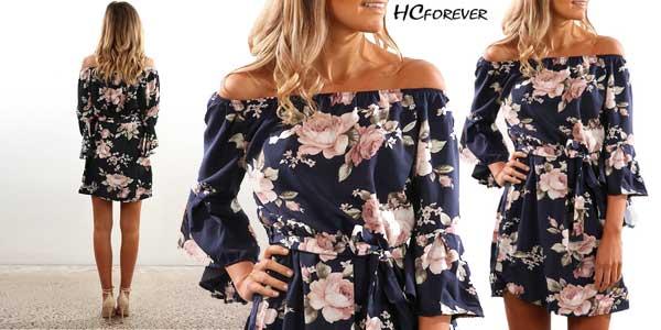 Vestido para mujer sin hombros ONLY YOU barato en AliExpress