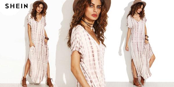 Vestido maxi Shein para mujer barato en AliExpress