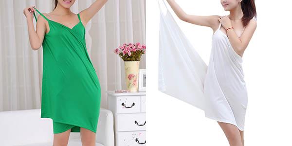 Vestido de algodón para mujer barato