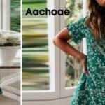 Vestido veraniego con escote en V y manga corta para mujer barato en AliExpress
