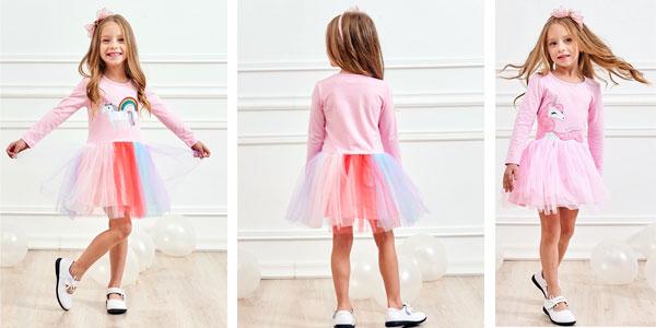 Selección de vestidos para niña chollo en AliExpress