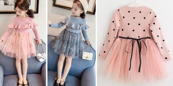 Selección de vestidos para niña chollazo en AliExpress