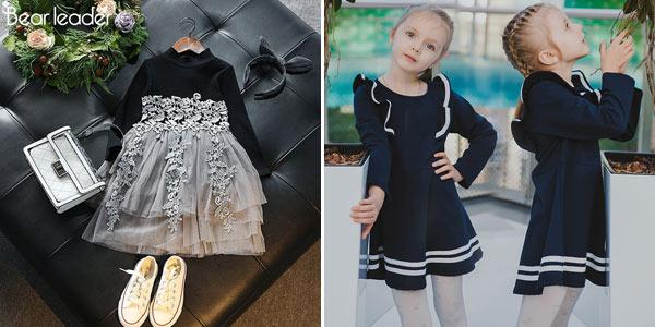 Selección de vestidos para niña baratos en AliExpress