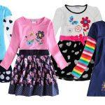 Vestidos Novatx para niña con manga larga chollo en AliExpress