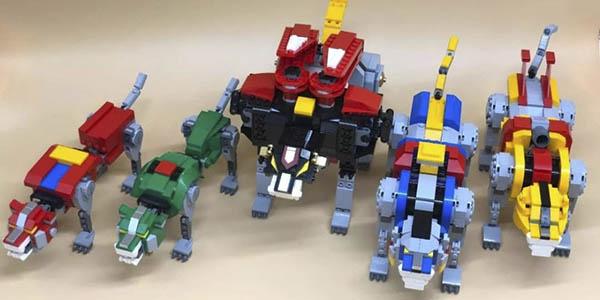 Voltron estilo LEGO en AliExpress