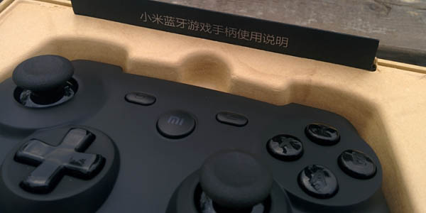 Xiaomi Gamepad unboxing