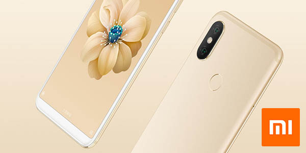 Xiaomi Mi 6X en color oro