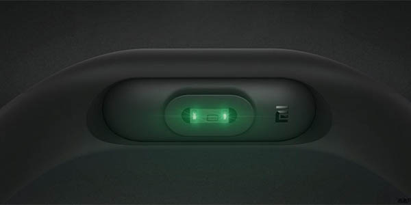 Xiaomi Mi Band 2 con sensor de frecuencia cardíaca