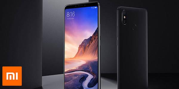 Xiaomi Mi Max 3 en color negro