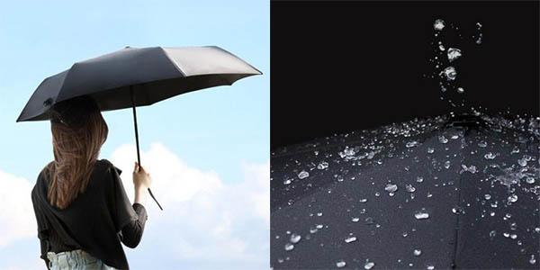 Paraguas plegable de Xiaomi con descuento