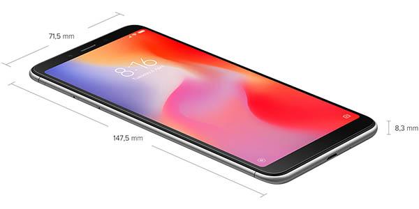 Smartphone Xiaomi Redmi 6A barato