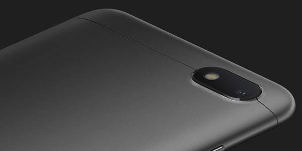 Xiaomi Redmi 6A en color negro