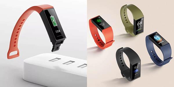 Xiaomi Redmi Band con sensor de frecuencia cardíaca