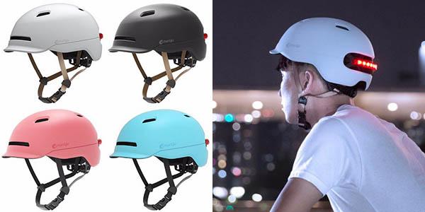 Casco de bicicleta Xiaomi Smart4u City Light Riding Smart barato