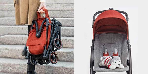 Cochecito de bebé plegable Xiaomi Zhixing KS1701 en Gearbest